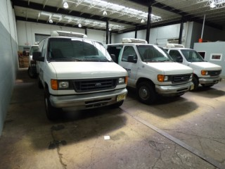 Court Ordered Liquidation: Refrigerated Vans, Drive-In Freezer, Frozen Seafood Company