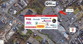 Lender Ordered Auction: Single Story Retail Building + Storage/Warehouse on 1.41± Acres