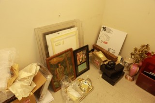 Storage Room full of Art, Collectibles & Other Misc.