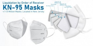 Liquidation by Order of Receiver - KN95 Masks