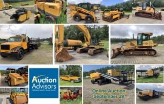 Heavy Construction & Paving Equipment Liquidation